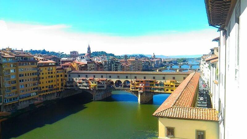 フィレンツェの街並みの写真