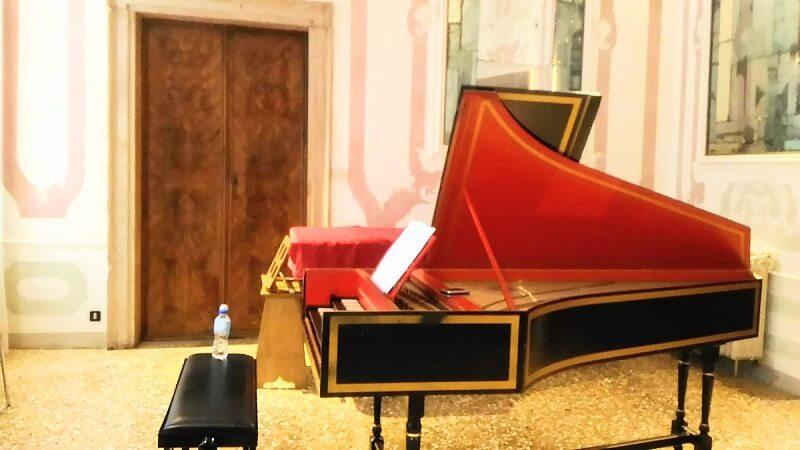バロック声楽科の教室