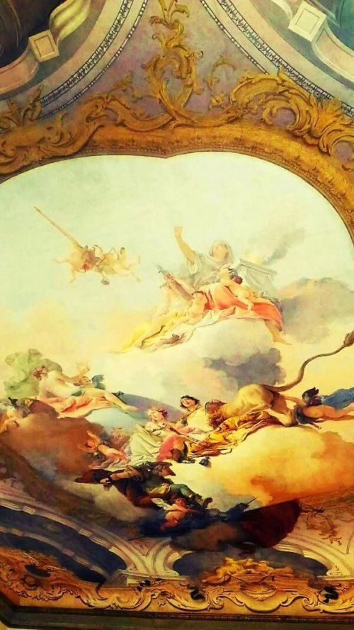ヴェネツィア音楽院の天井画