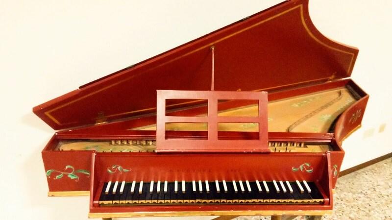 ピアノとの違い1、楽しいところ。スピネッタ(小型チェンバロ)