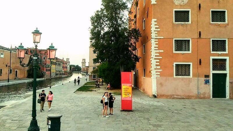 6月下旬のヴェネツィア