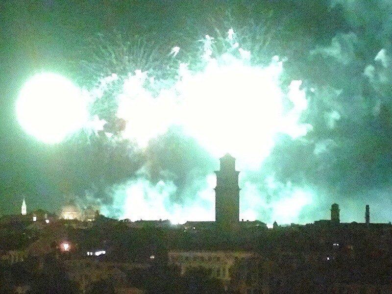 レデントーレ祭の花火