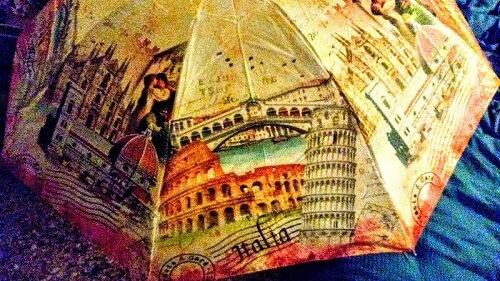 ヴェネツィアで買った折り畳み傘