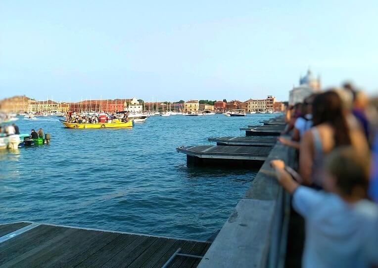 レデントーレ祭の浮き橋