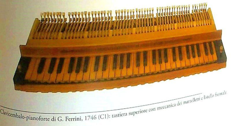 チェンバロ・ピアノの上鍵盤