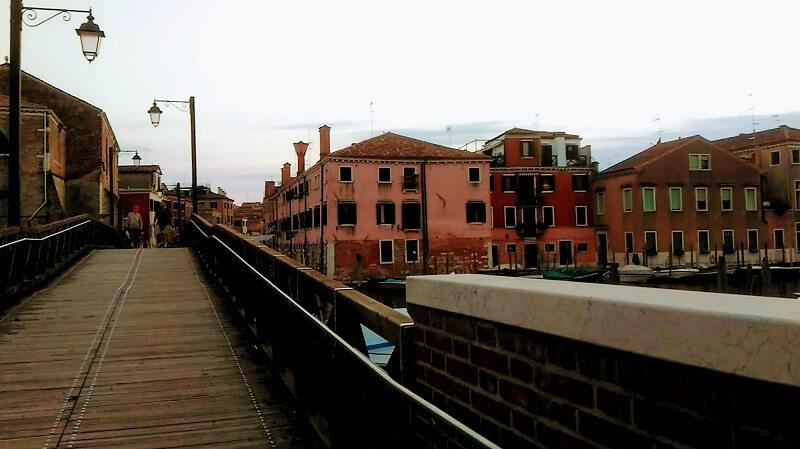ヴェネツィアのカステッロ地区の奥の方