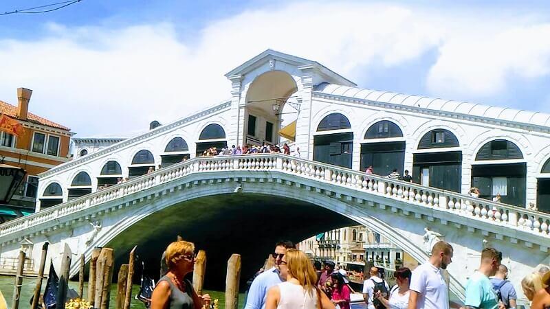 リアルト橋の写真