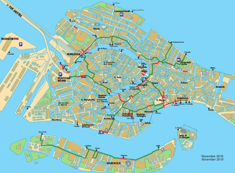 パッセレッレの地図