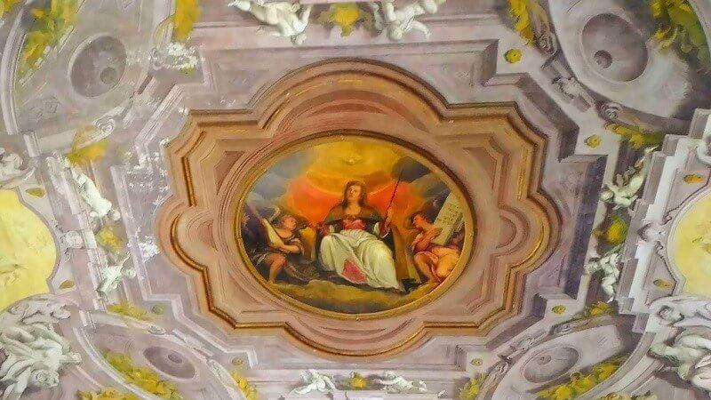 卒論の進め方ー音楽院の天井画