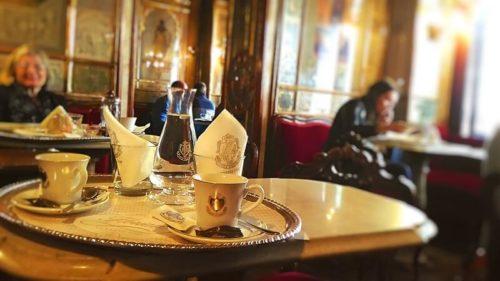 ベネチア観光。カフェ・フローリアン