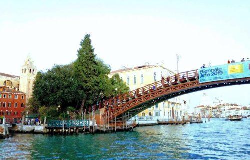 ベネチア観光。アッカデミア橋