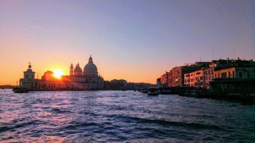 ベネチア観光。サンタ・マリア・デッラ・サルーテ
