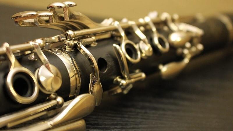 移調楽器のクラリネット
