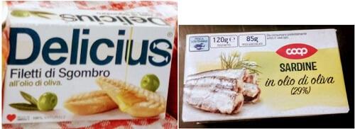 イタリア留学の自炊用食材、魚の缶詰