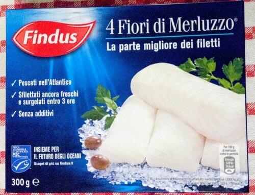イタリア留学の自炊食材、冷凍の鱈