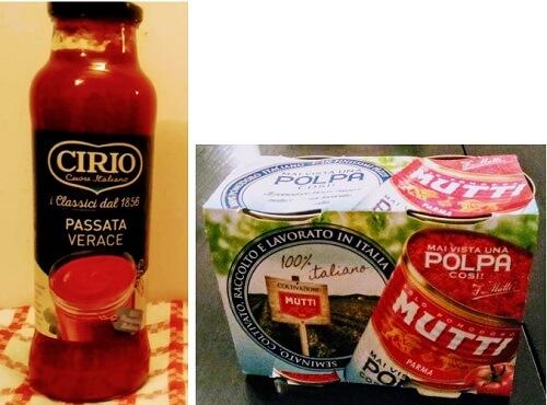 イタリア留学中の自炊食材、トマトペーストとトマト缶