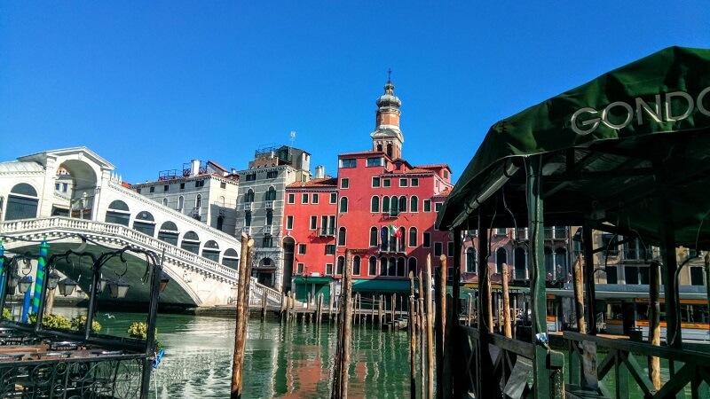 筆者の留学先、ヴェネツィアの様子