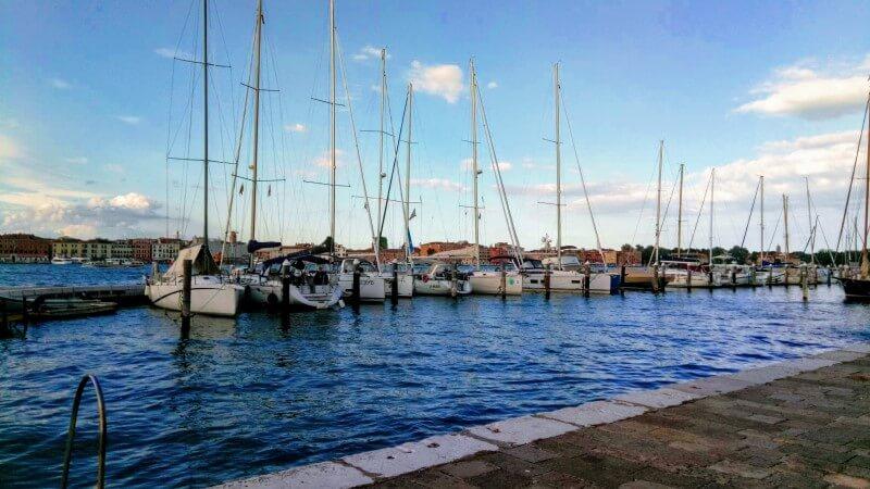 サン・ジョルジョ・マッジョーレ島からの眺め